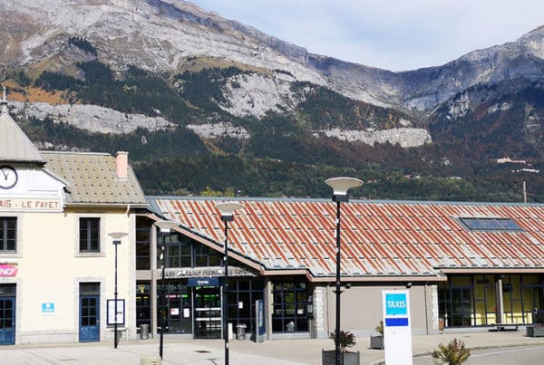 La Gare de Saint Gervais
