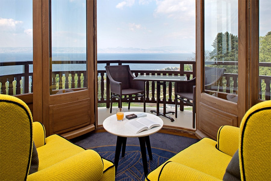 Junior Suite Rotonde Hôtel Royal Evian