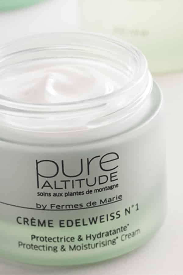 Crème de visage edelweiss Pure Altitude