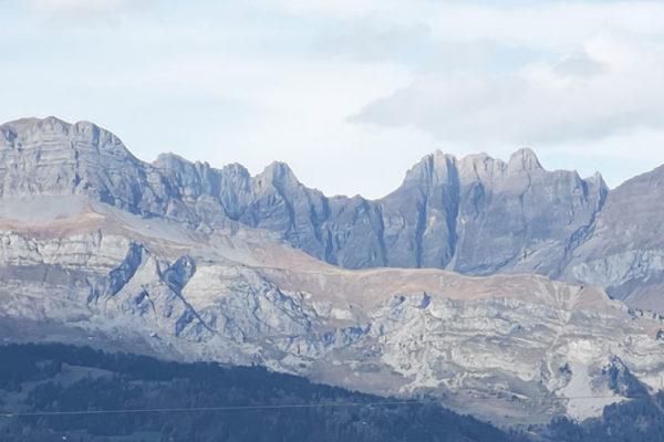 Vue Mont Blanc Saint Gervais