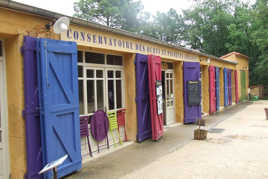 Le Conservatoire des Ocres dans le Vaucluse