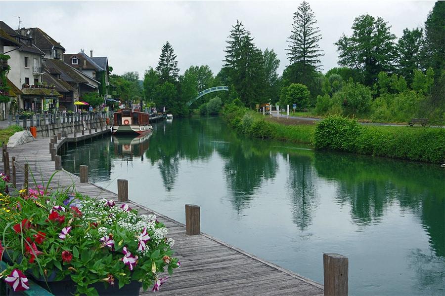 Canal de Savière Lac du Bourget