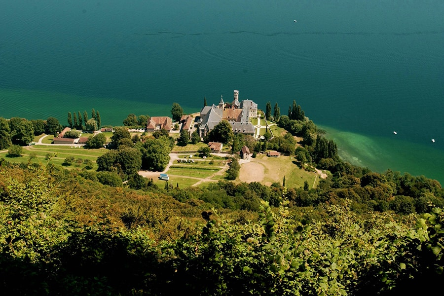 Abbaye d'hautecombe Lac du Bourget