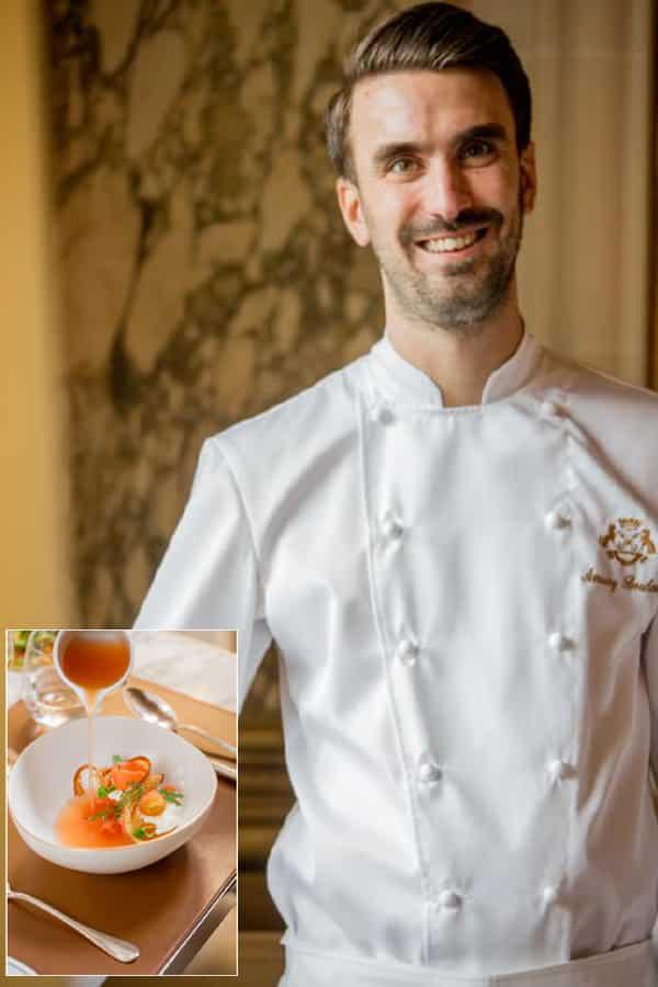 Amaury Bouhours Jeune Chef restaurant du Dalit Le Meurice - Sélection Unique Hôtel Spa