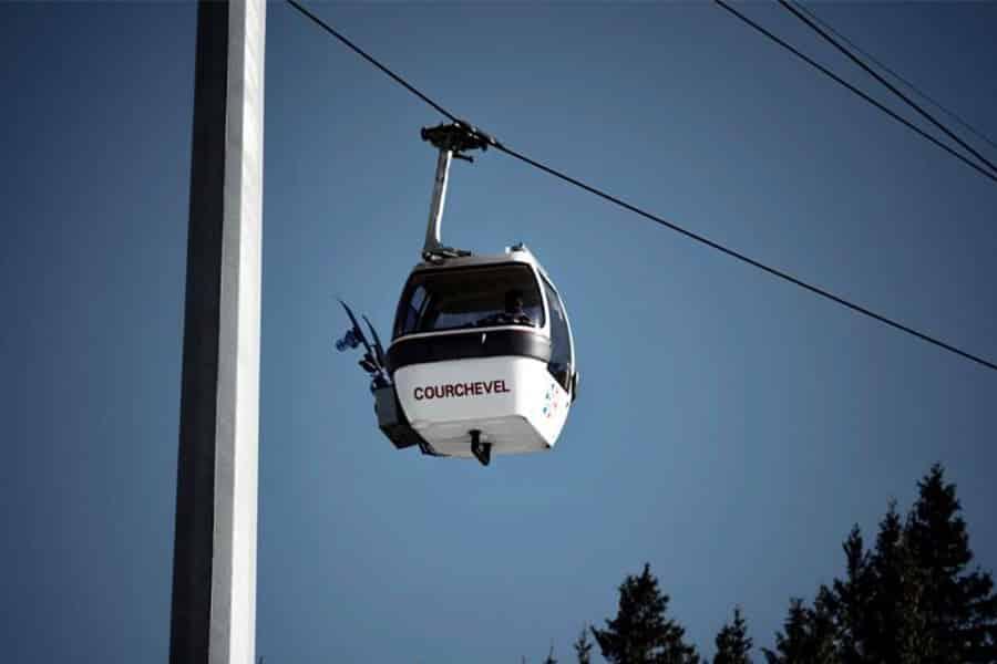 La station de Courchevel pour vos vacances en Savoie en Hiver