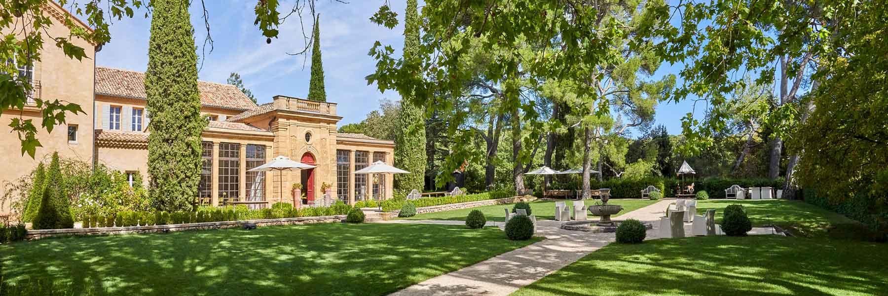 Château de la Gaude, un domaine de prestige à Aix-en-Provence