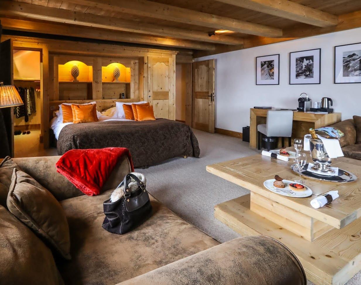 Fer à Cheval, une invitation luxueuse et authentique en plein cœur de Megève