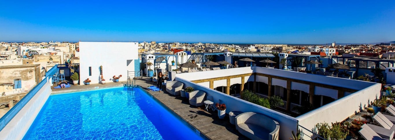 L'Heure Bleue Palais, the rare pearl of the romantic city of Essaouira