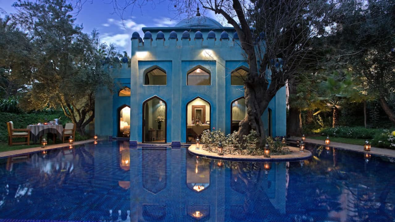 Es Saadi, a resort of a thousand and one nights in the center of Marrakech, the city of ochre