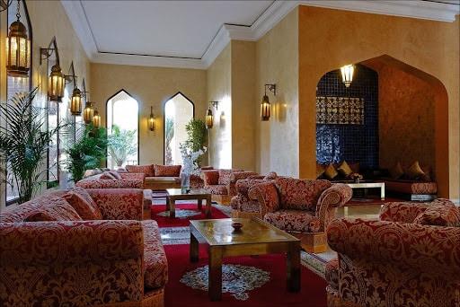 Es Saadi, un resort des mille et une nuits au centre de Marrakech, la cité d'ocre.