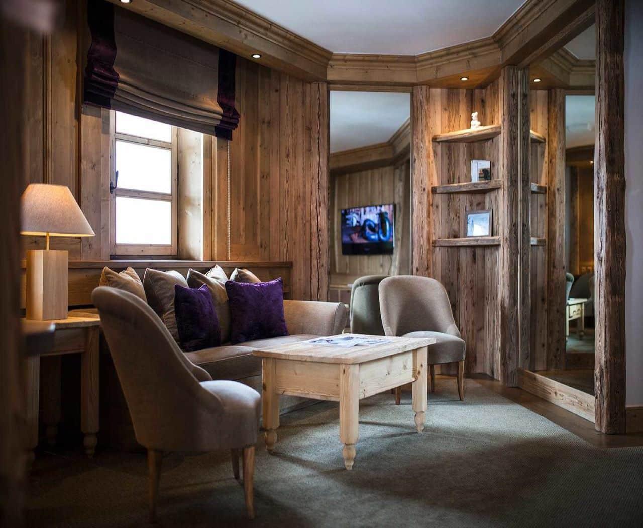 Les Barmes de L'Ours, un hôtel au charme authentique à Val d'Isère