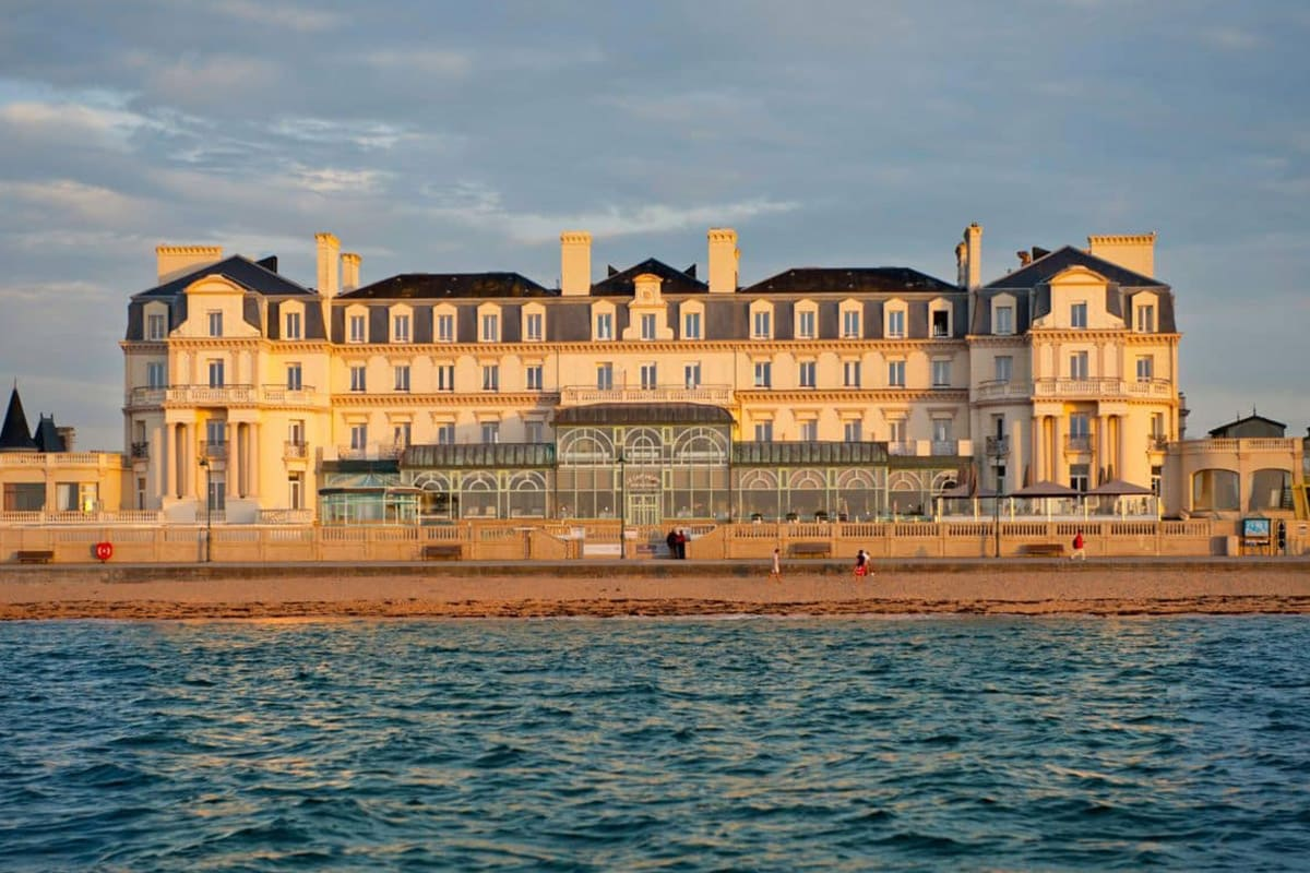 Seaside stays at the Thermes Marins de Saint-Malo