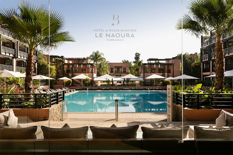 L'hôtel Maroc Ryads Barriere le Naoura