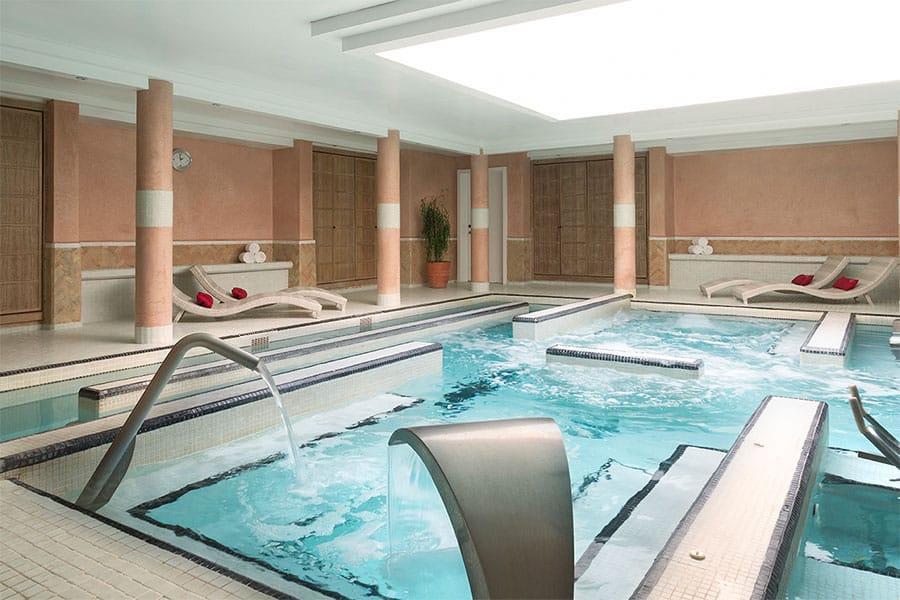 Le spa de l'hôtel Ryads Barrière le Naoura