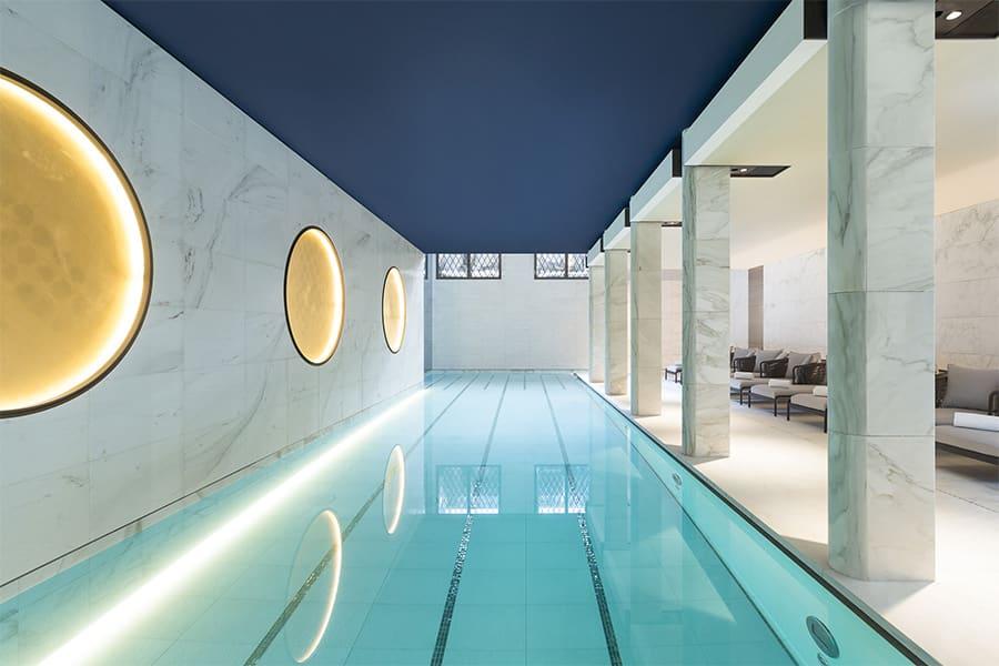 La piscine du Lutecia pour vos sessions bien-être et détox
