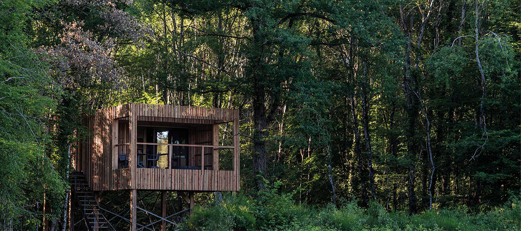 Loire Valley Lodges, an exceptional stay in lodges on stilts