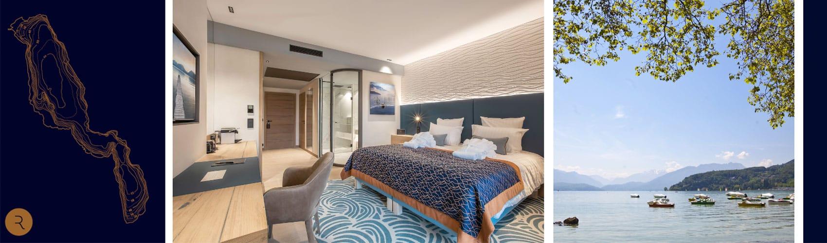 Rivage, le nouvel hôtel avec spa d'Annecy ouvre cet été !