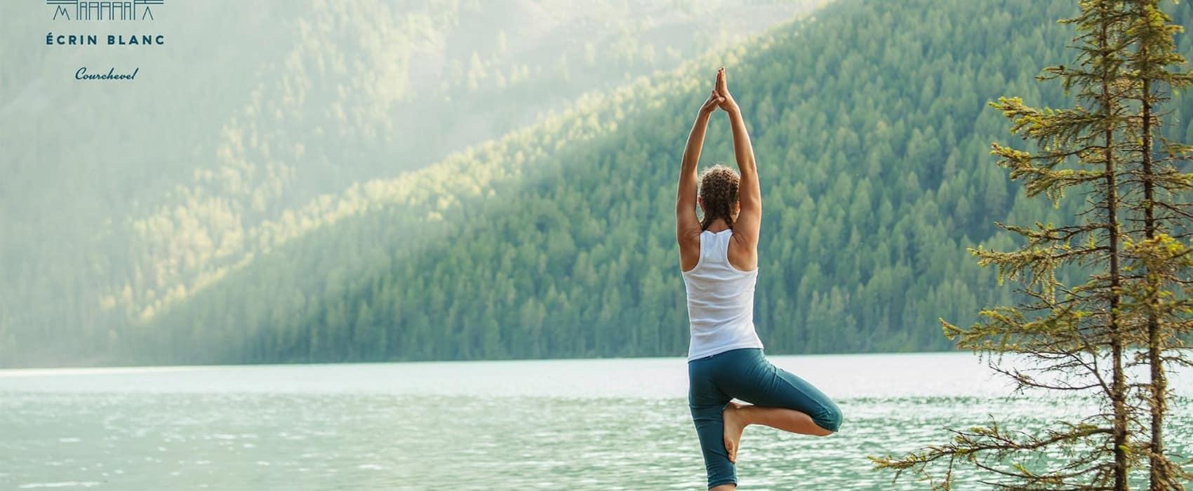 Pratiquer le Yoga à Ecrin Blanc Resort, Courchevel